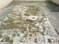 Batu bekas tempat sholat Sunan Kalijaga di Dk. Sepi, Barepan, Cawas, Klaten
